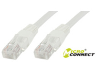 MicroConnect Fladt UTP CAT6 5M WHITE V-UTP605W-FLAT