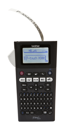 Brother ptouch PT-H300 / PTH300 Labelmaskine, 3,5-18mm TZ-tape
