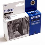C13T048140 Sort blækpatron T481, original Epson(13ml)