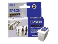 C13T051140/S020108/189 sort blækpatron, original Epson(21ml)