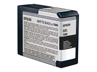 C13T580800 mat sort blækpatron, original Epson (80 ml)
