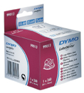 DYMO 99013 adresse etiket, transparent plast 36X89mm, 260 labels, S0722410