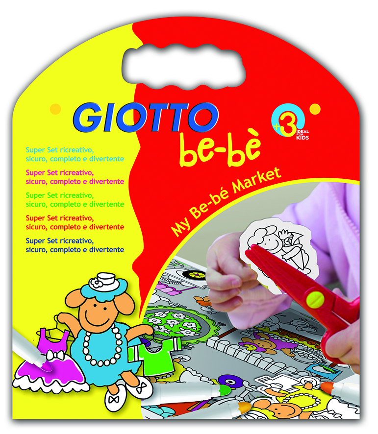 GIOTTO be-bè Creative Kit Marked varenr. 465700, 1pk.