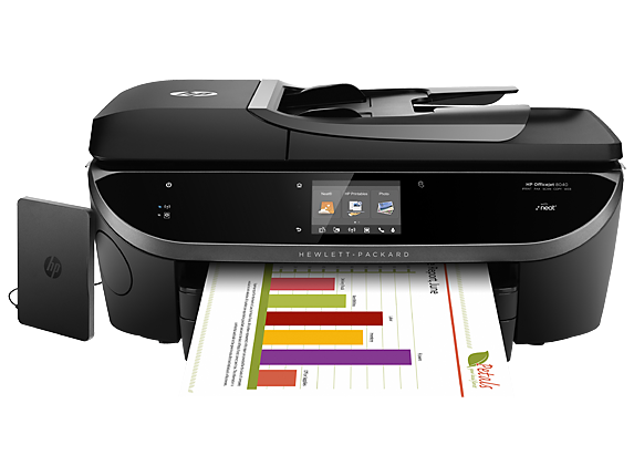 Blækpatroner HP Officejet  8040 with Neat-e-All-in-One Printer printer