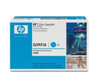Q5951A cyan toner Color Laserjet 4700, original HP(10000s)