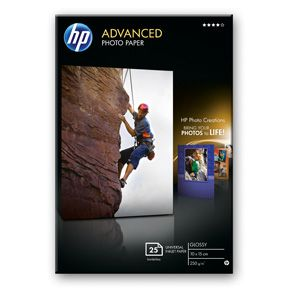 HP 10x15 Advanced Glossy Photo Paper 250 g/m², Q8691AX (25ark)