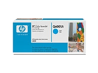 Q6001A cyan toner Color LJ 1600/2600/2605, original HP (2000s)