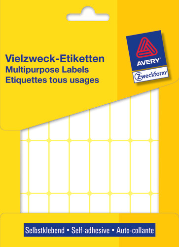 Avery 3323 Labels/Etiketter, hvide All-round 38x14 stor pakke 928stk.