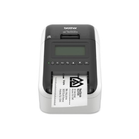 Brother QL-820NWB labelprinter, USB, Eth, Wi-Fi, Bluetooth og AirPrint