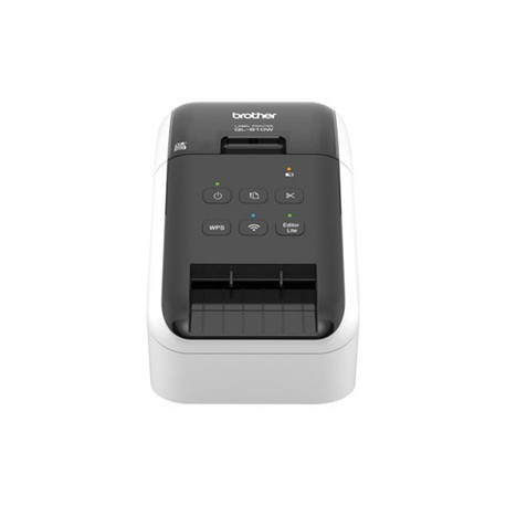 Brother QL-810W labelprinter, op til 62mm, USB, Wi-Fi og AirPrint