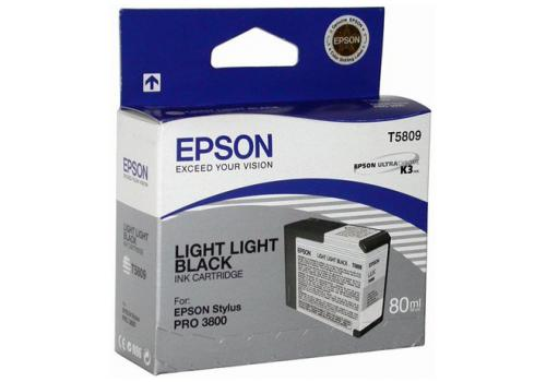 C13T580900 lys lys sort blækpatron, original Epson (80 ml)