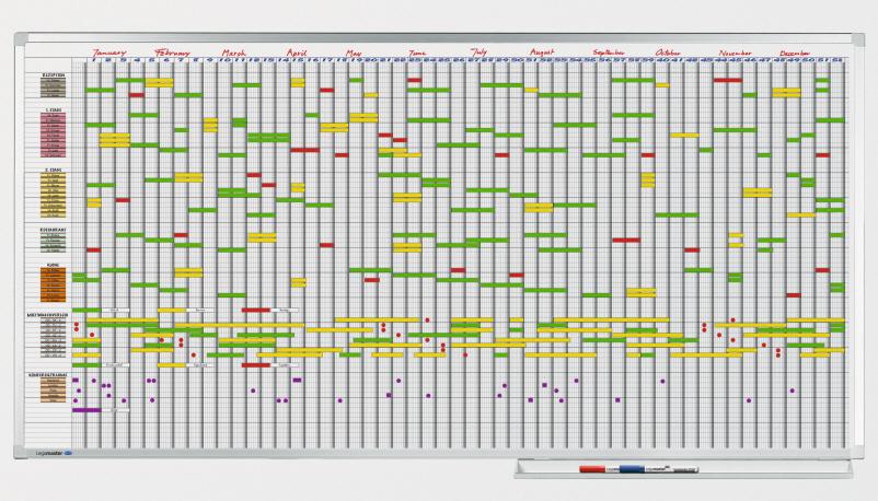 Kjempebra Legamaster Kalendertavler KT-33