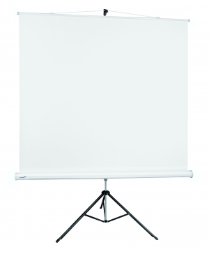 LEGAMASTER BASIC WHITE TRIPOD PROJECTION SCREEN 180X180 CM
