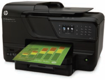 HP Officejet Pro 8600 e-All-in-One USB eNet WLAN 18ppm, 6,75cm Touchscreen