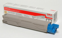OKI 43459332 sort toner, original (2500 sider)