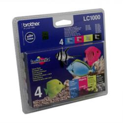 LC1000 Value pack alle farver (4 stk.), original Brother LC-1000