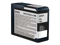 C13T580100 Photo sort blækpatron, original Epson (80 ml)