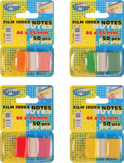 Film Index Notes 50stk 44*25mm varenr. 83502, 4-pak