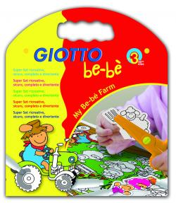 GIOTTO be-bè Creative Kit Farm varenr. 465600, 1pk.
