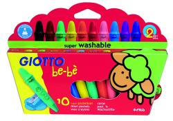 GIOTTO be-bè Supercrayon 10 stk varenr. 466800, 6pk.