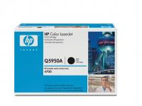 Q5950A sort toner Color Laserjet 4700, original HP(11000s)