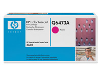 Q6473A magenta toner Color Laserjet 3600, original HP (4000s)