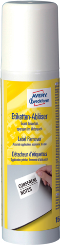 Avery 3590 Etiketfjerner spray 150ml