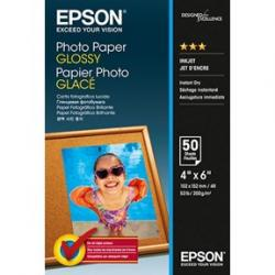 10x15cm Photo Paper Glossy 50 sheet, Epson C13S042547