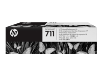 Printhoved HP 711 printhoved Replacement Kit DJ T120, C1Q10A