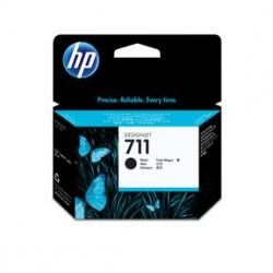 Blækpatroner HP 711 Sort 80 ml DJ T120 520, CZ133A