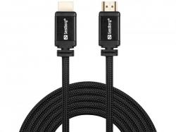 HDMI 2.0 19M-19M Cable, sort (1m), Sandberg 508-97