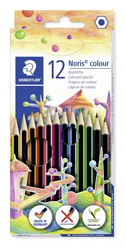 Farveblyant Noris Colour ass (12), Staedtler 185 C12