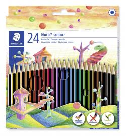 Farveblyant Noris Colour ass (24), Staedtler 185 C24
