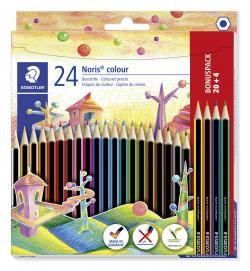 Farveblyant Noris Colour ass (20+4), Staedtler 185 C24P