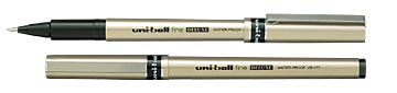 Uni-ball UB-177-46 fine deluxe, Sort (12stk.), 40101446